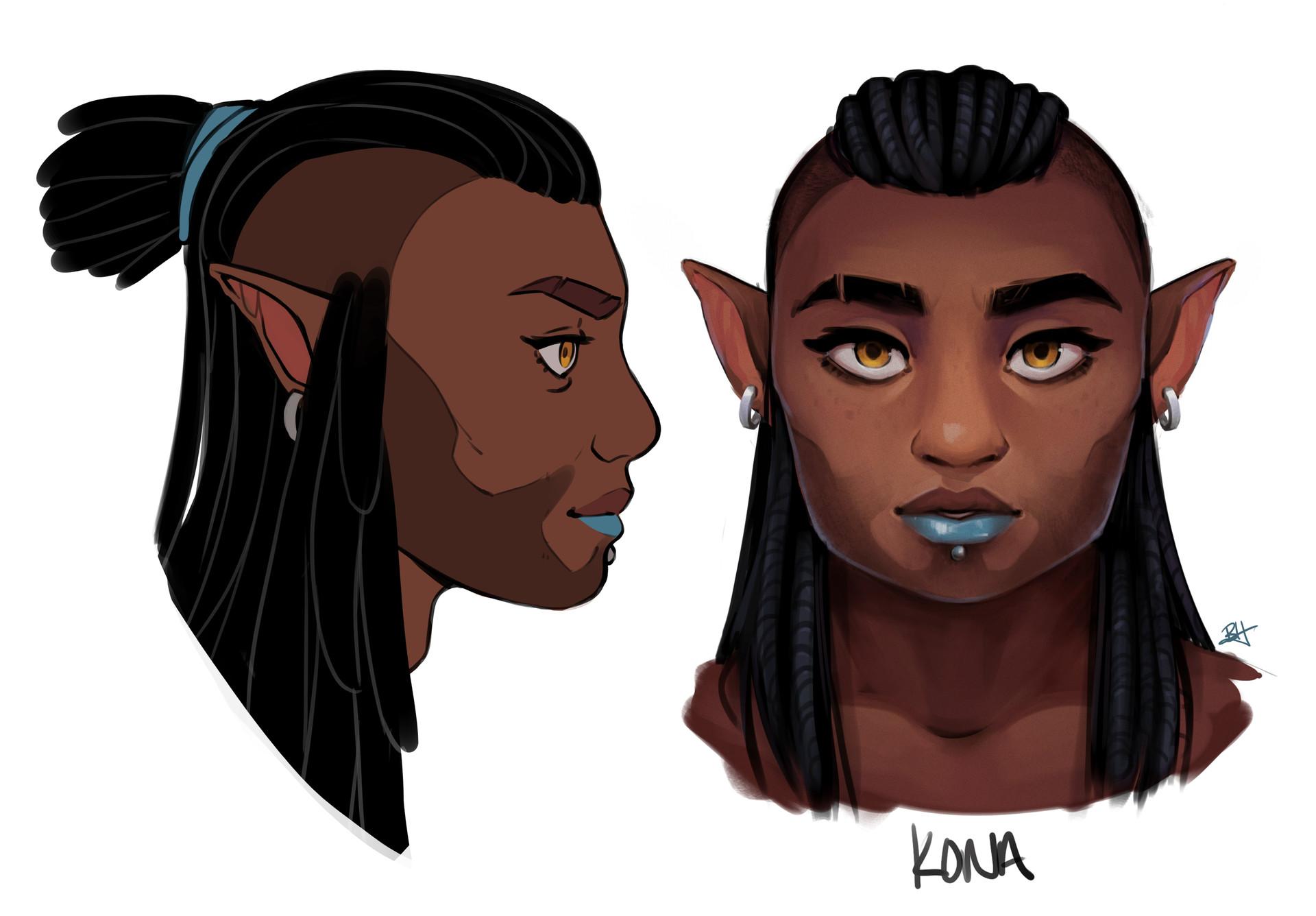Character Design: Kona