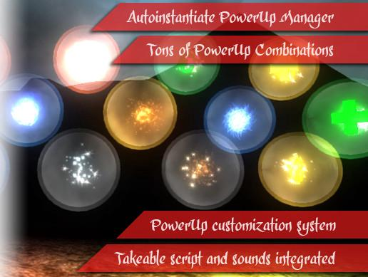 PowerUp Particles