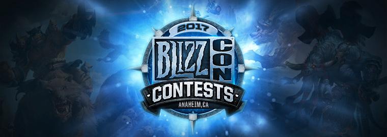 BLIZZCON 2017 CONTEST WINNERS