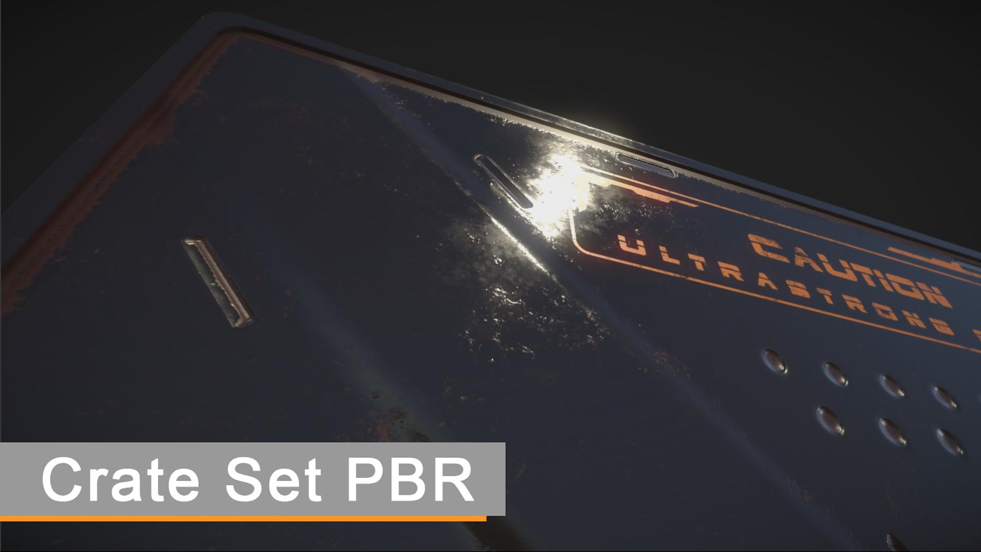 Crates Sets PBR