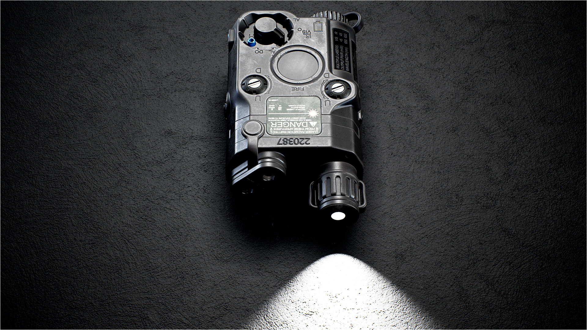 Lasersight/Infrared Laser and Infrared Illuminator