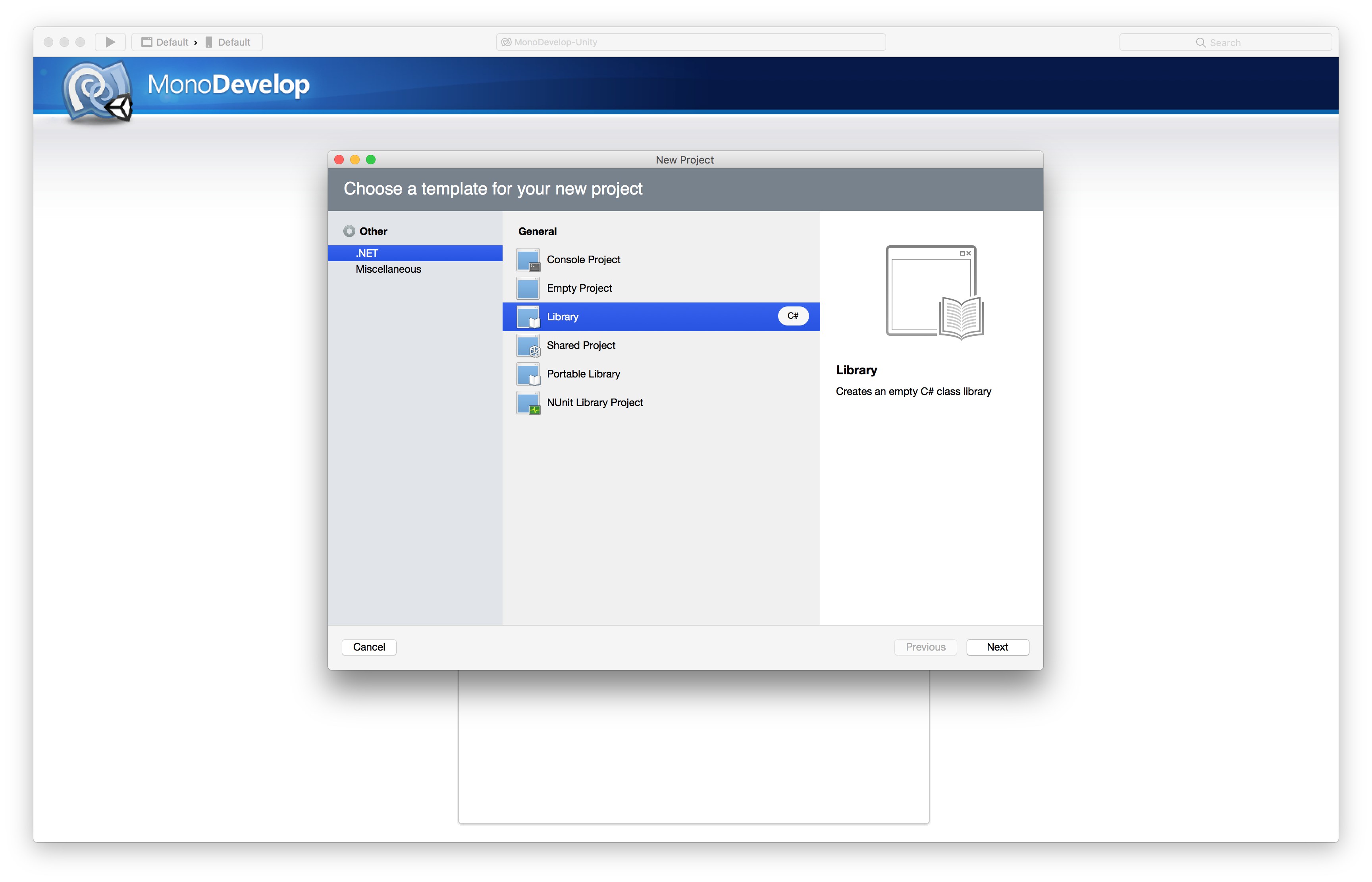 Building DLL library with MonoDevelop on MacOS