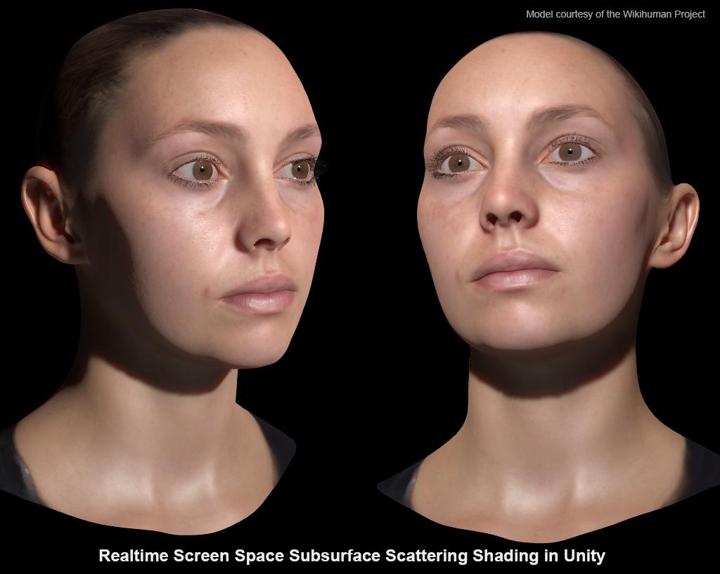 Experimentation: Realistic Skin Rendering