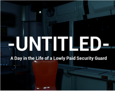 Untitled, a Day in the Life of a Lowly Paid Security Guard