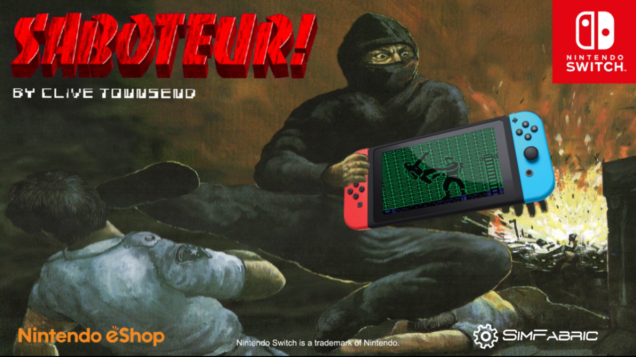 Saboteur! by Clive Townsend