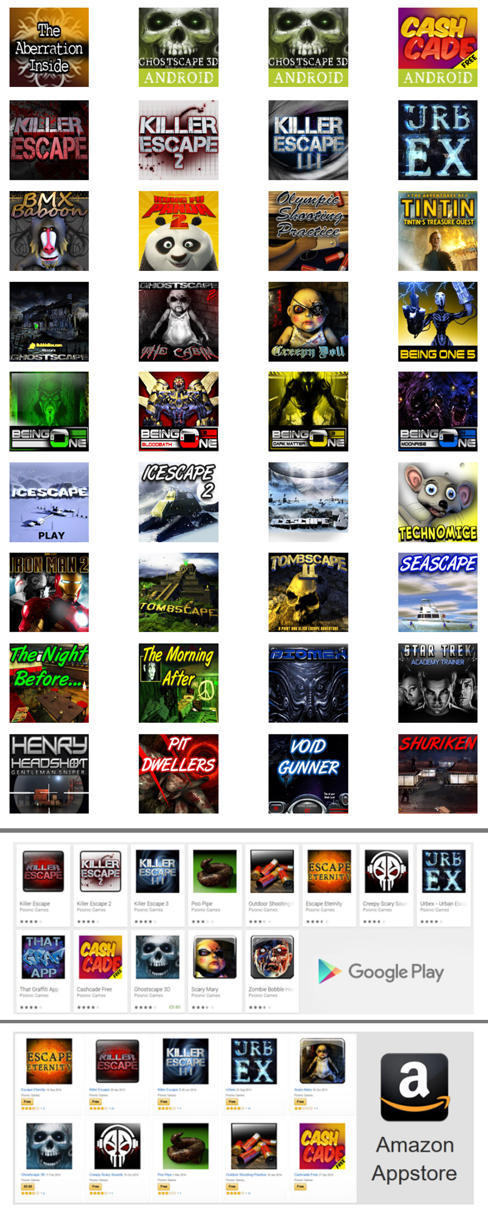 All My Flash Games