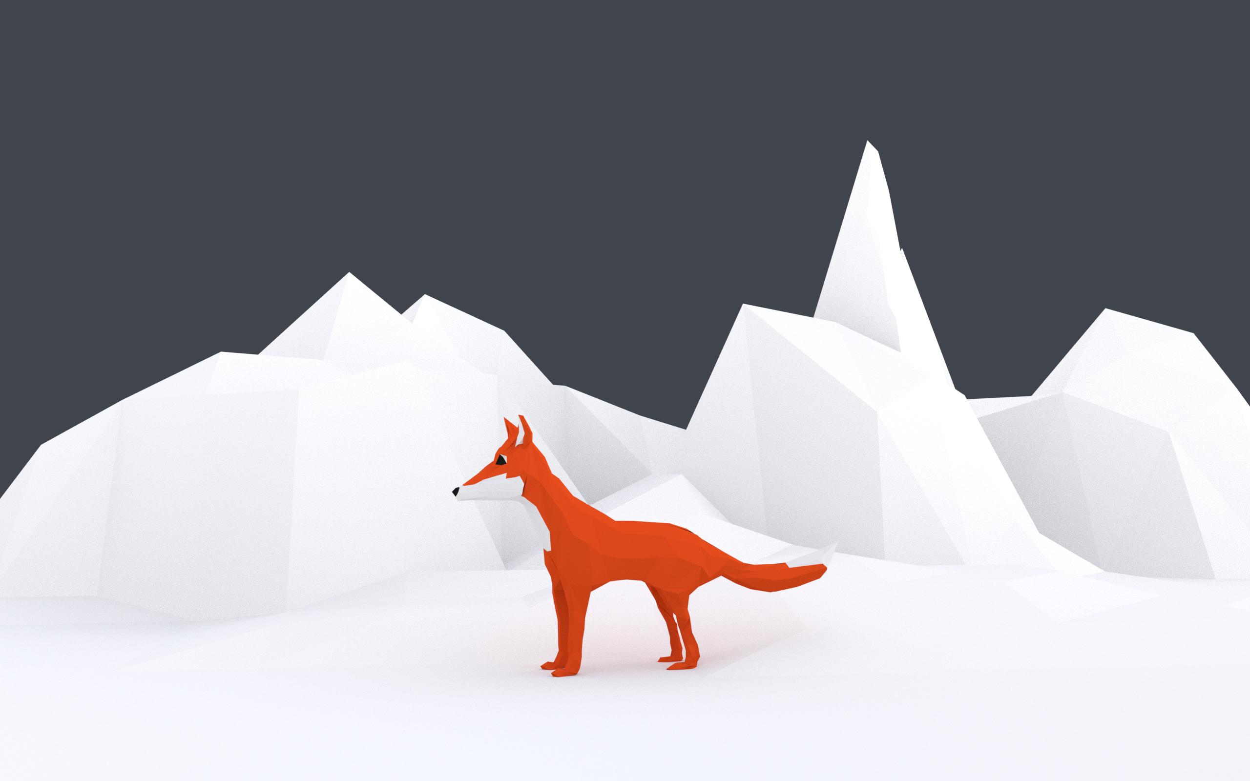 WIP - Low Poly Fox