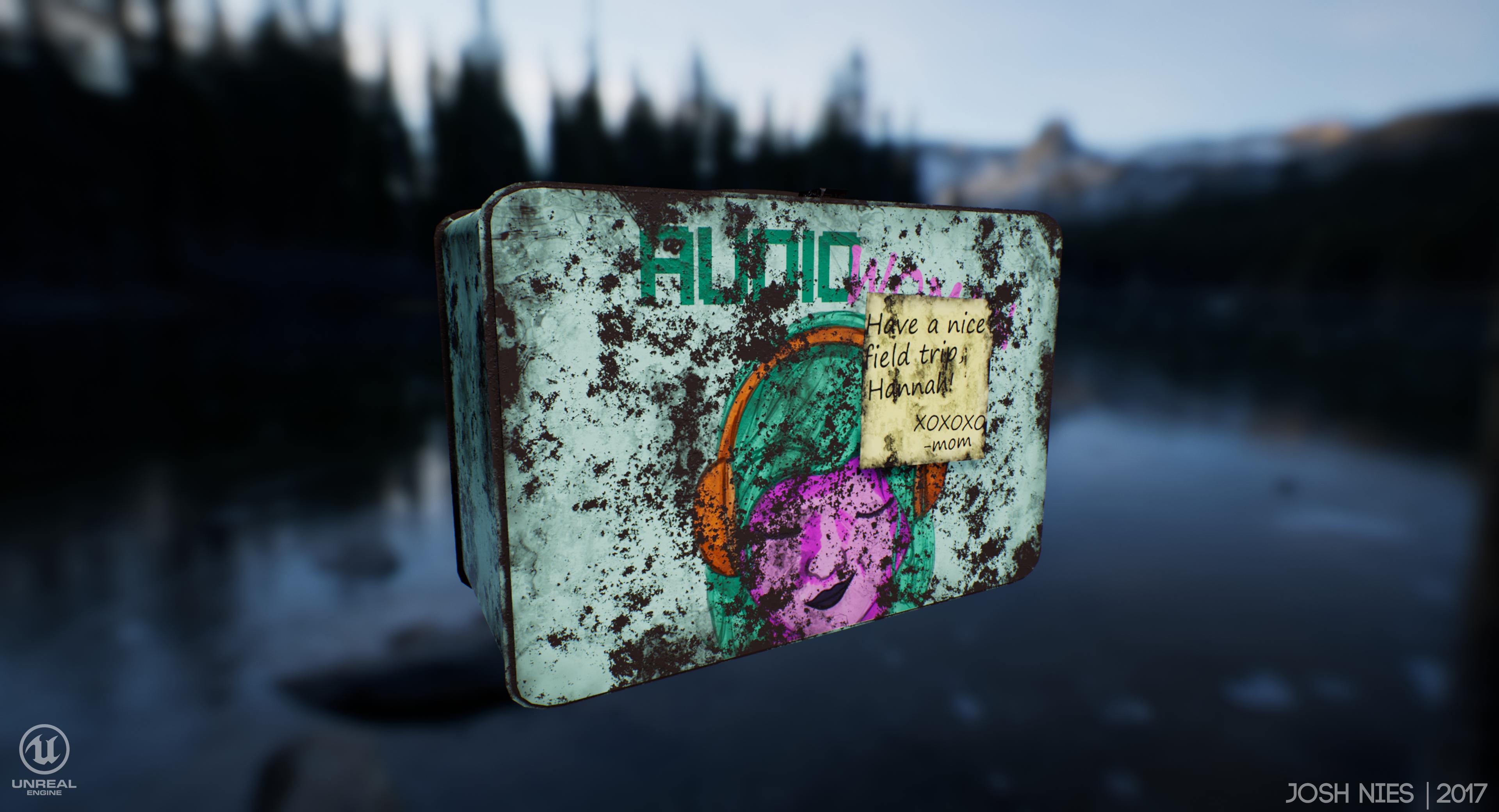 Girl's Lunchbox