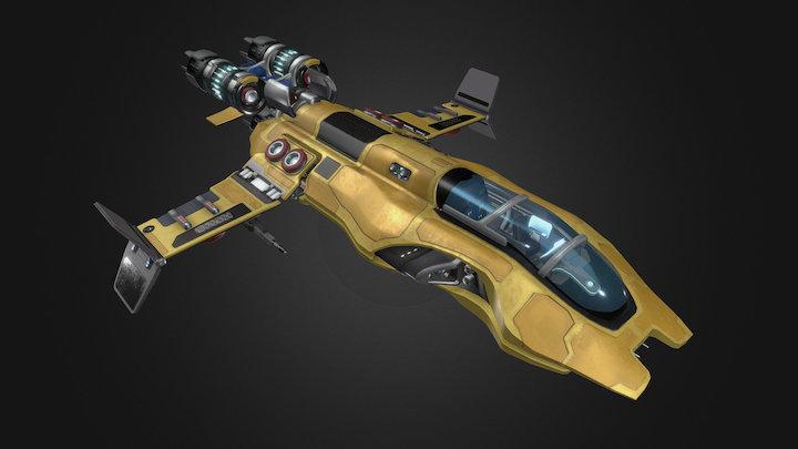Sci-fi Spaceship