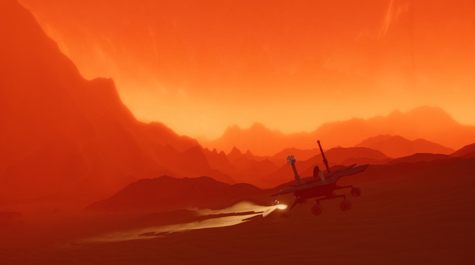 Mars - daytime