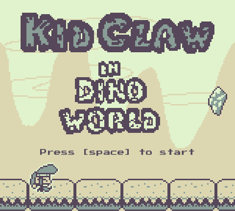 Kid Claw in Dino World