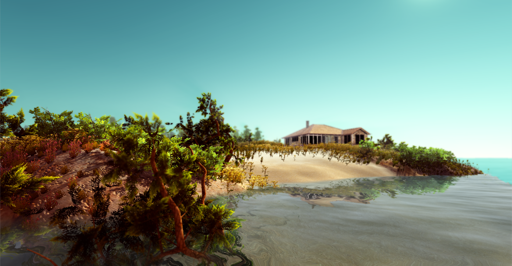Rock island - Terrain