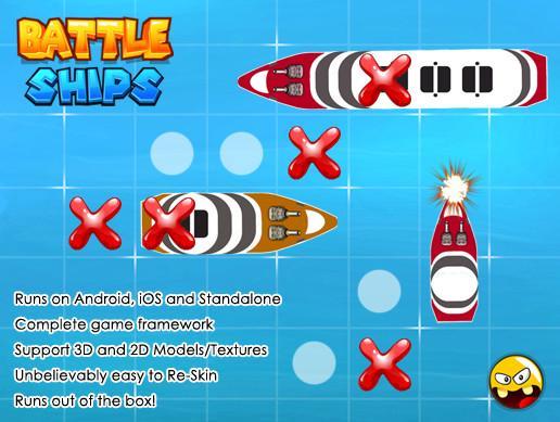 Battleship Game Framework
