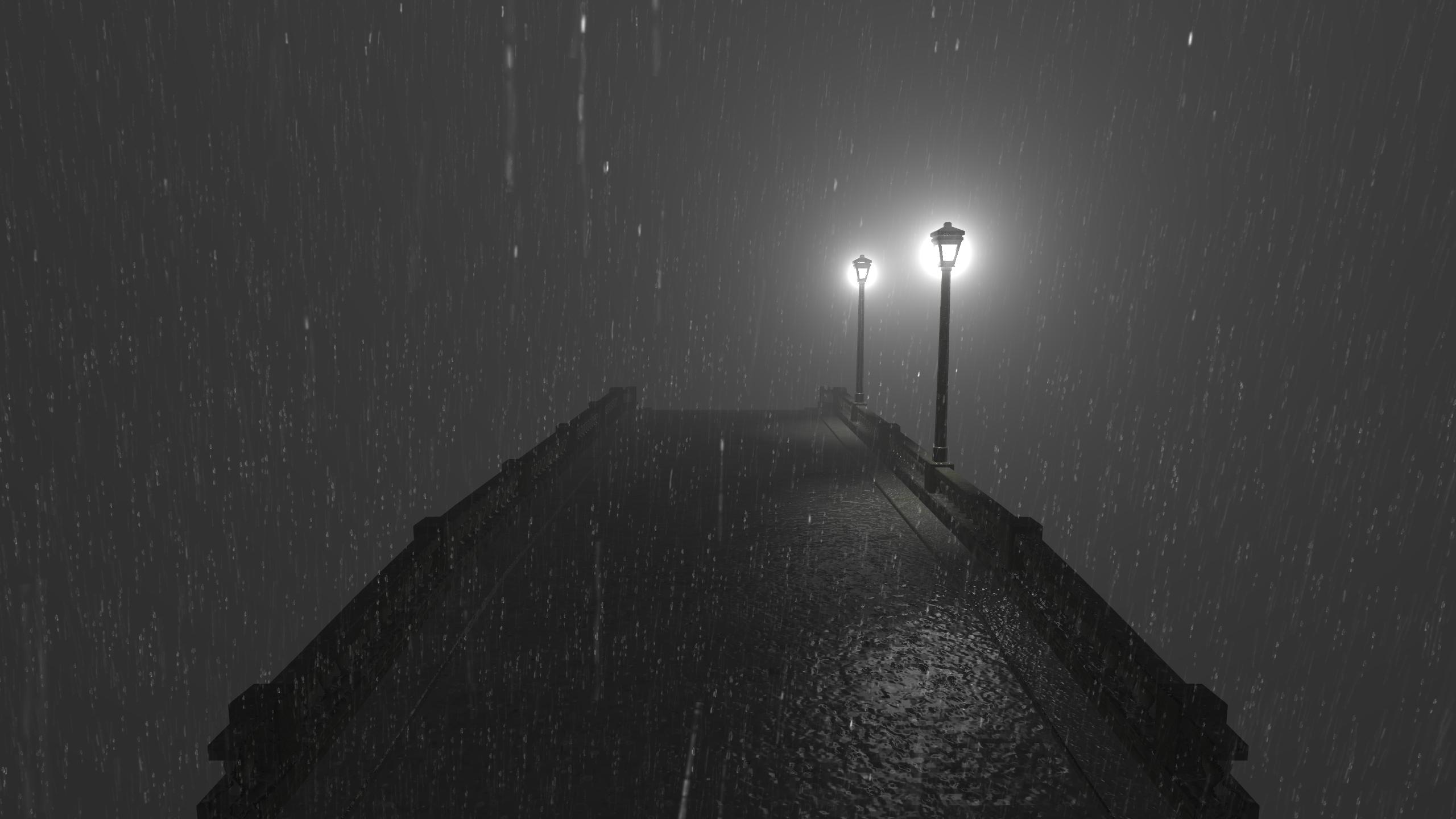 用Unity实现逼真的雨和带散射的雾的效果