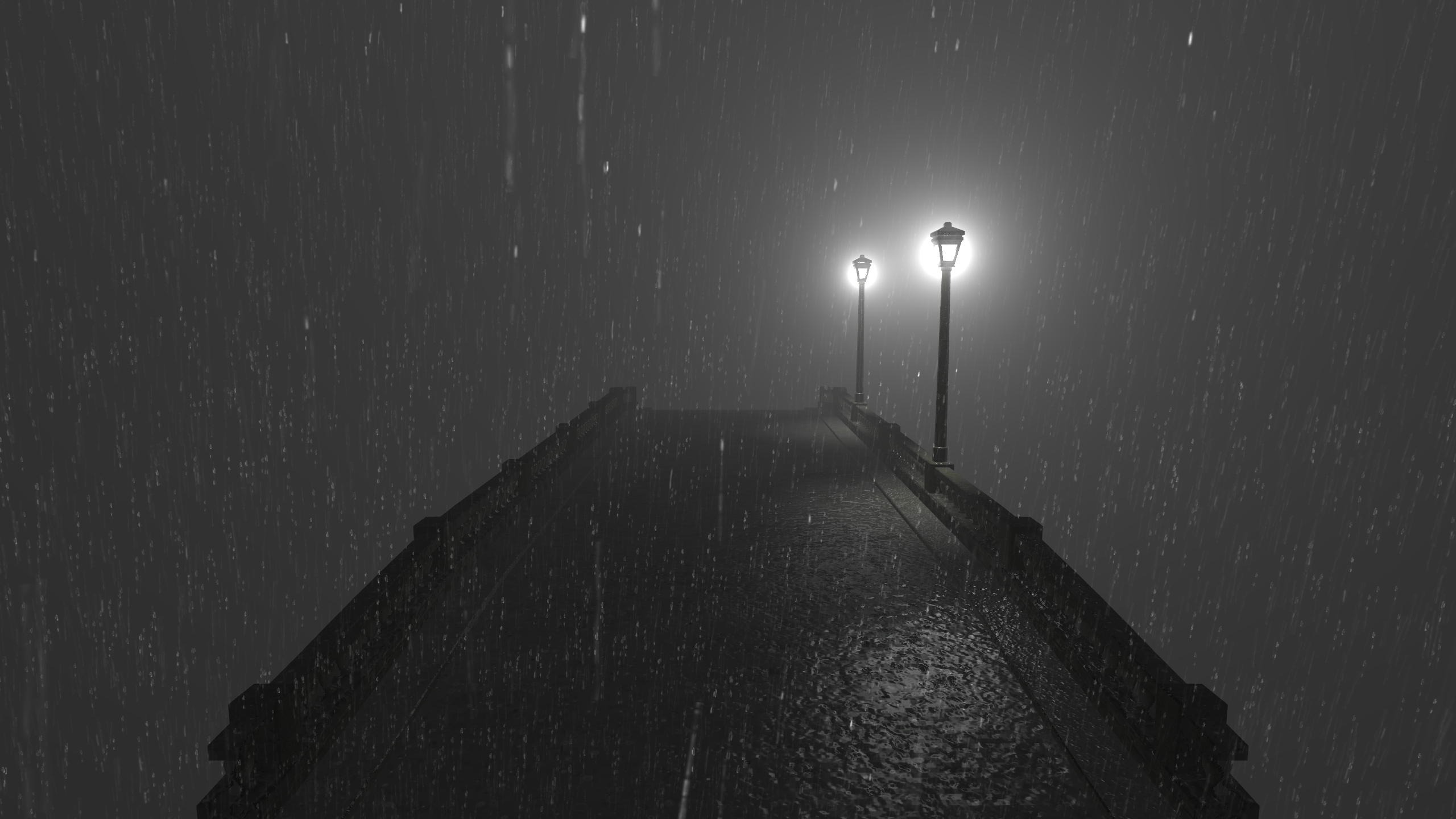 用Unity实现逼真的雨和带散射的雾的效果(二)
