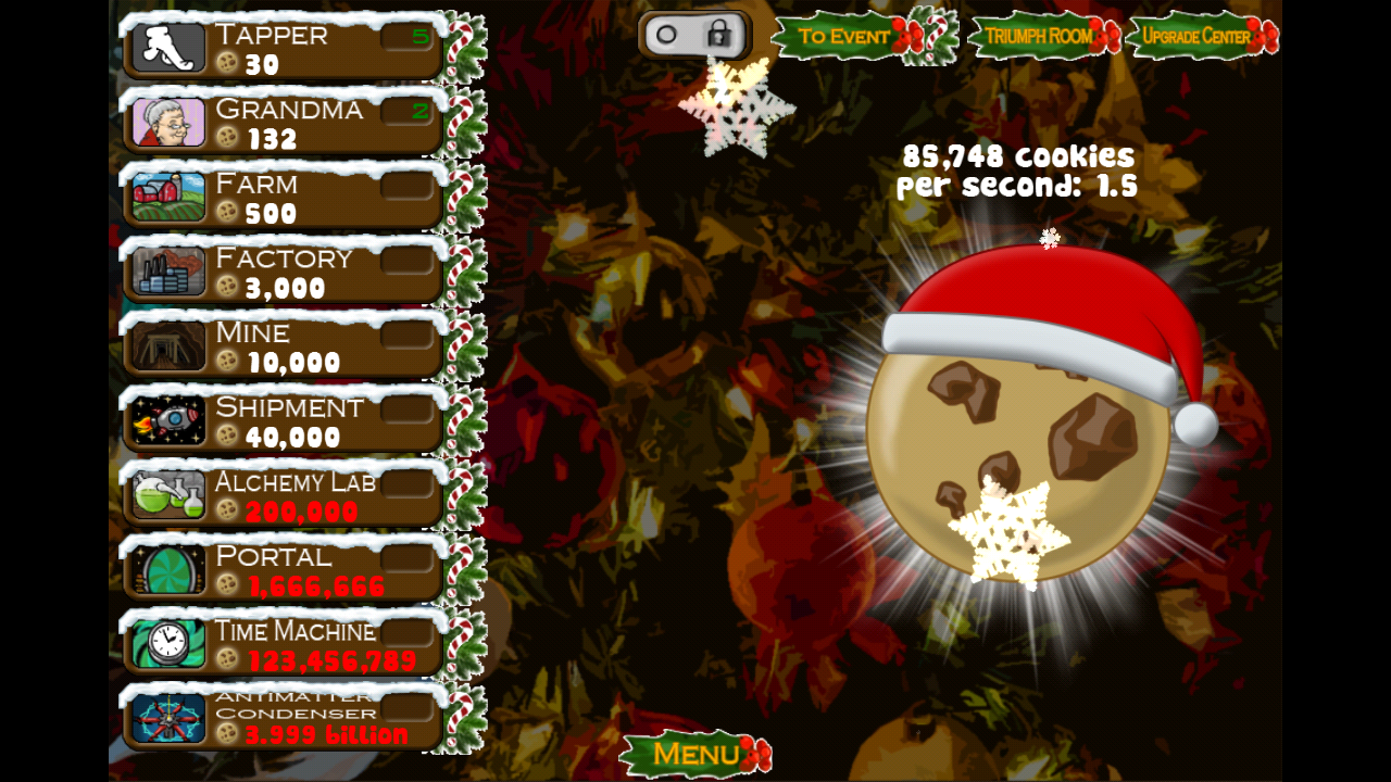 Cookie Clicker - Unity Connect