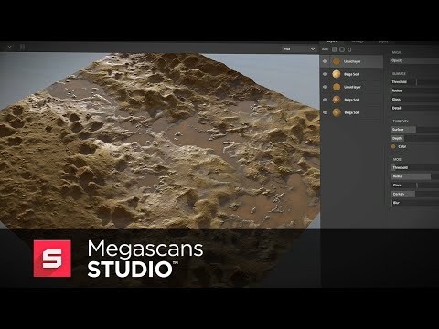 Megascans Studio Tutorial