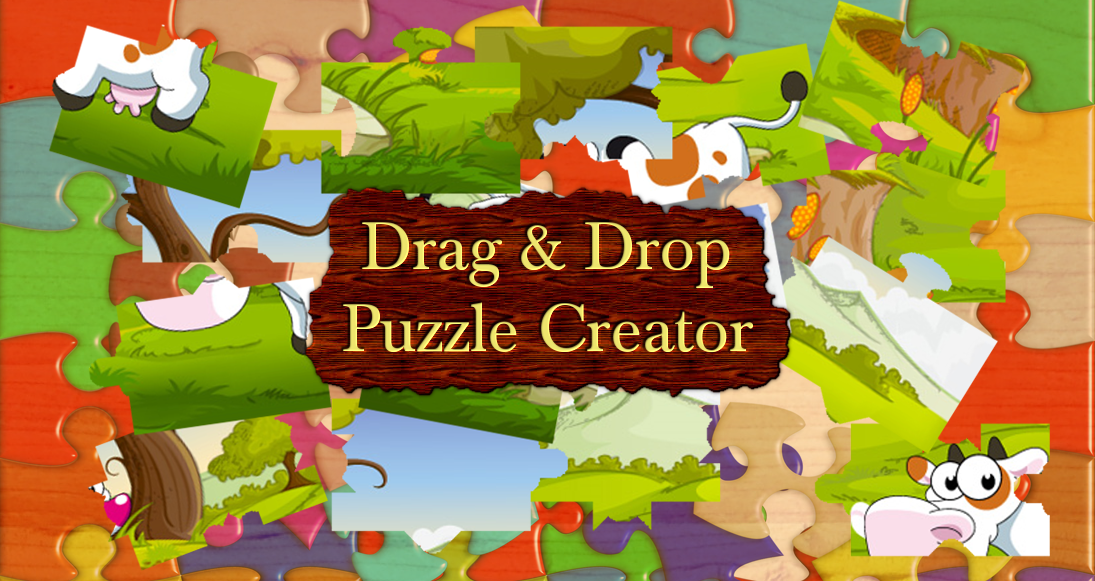 Drag And Drop Puzzle Creator