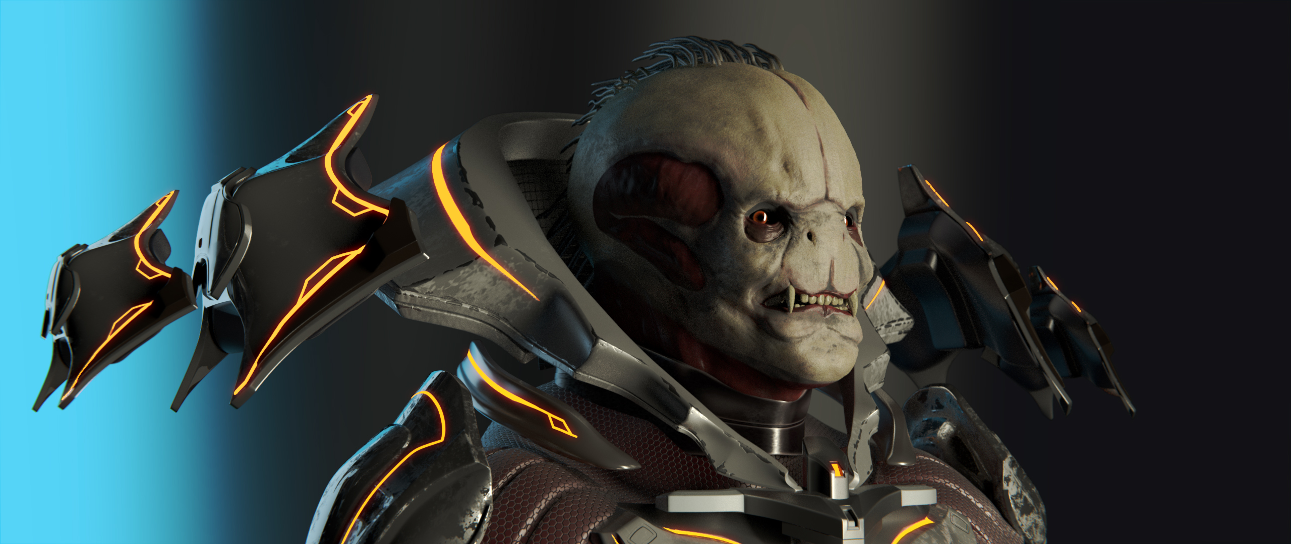Didact Character (Halo) Fan Art