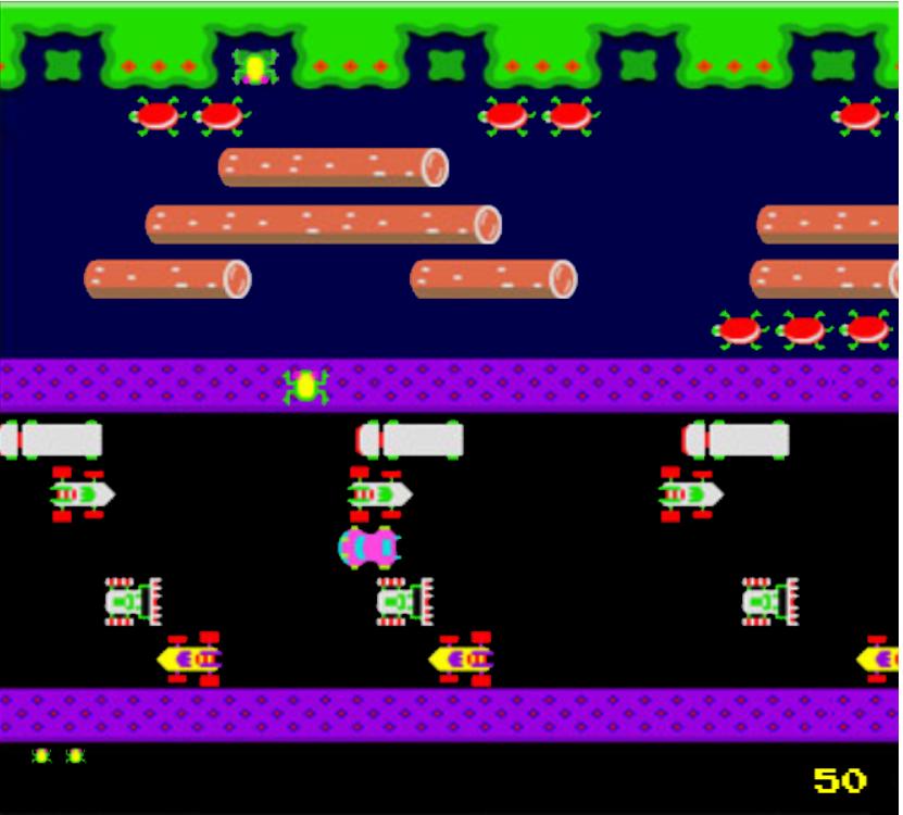 JavaScript Frogger