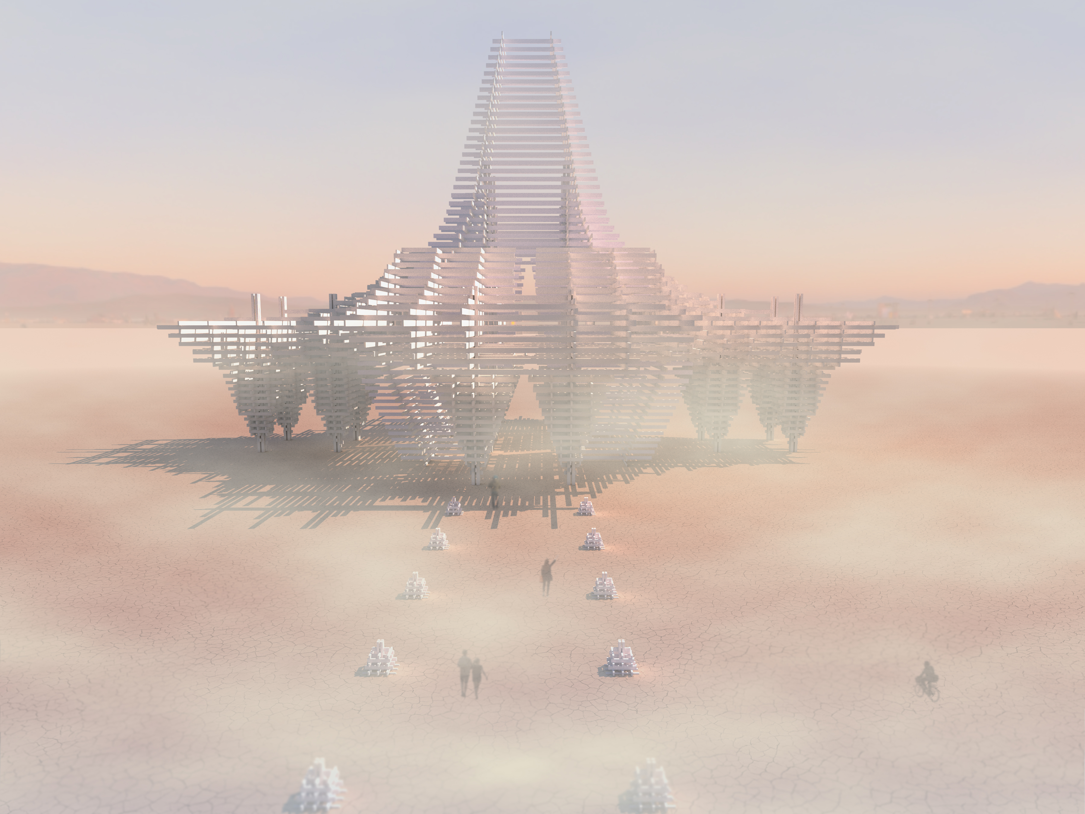 Burning Man Temple 2017