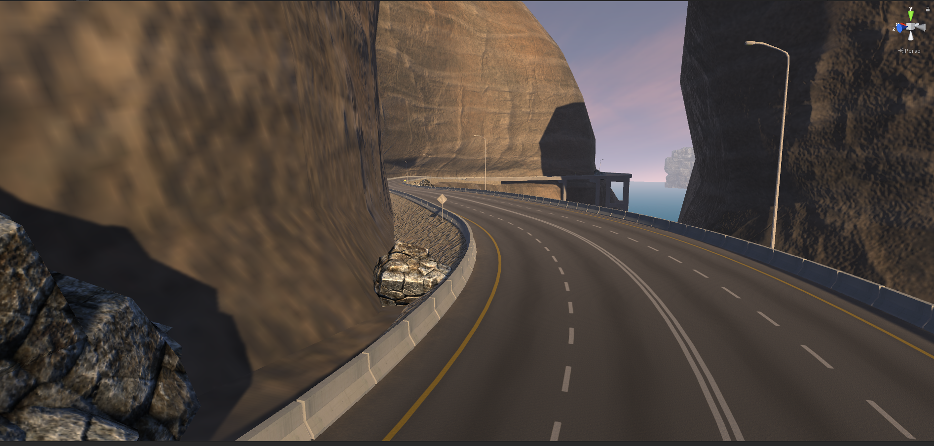 Race Track Environments