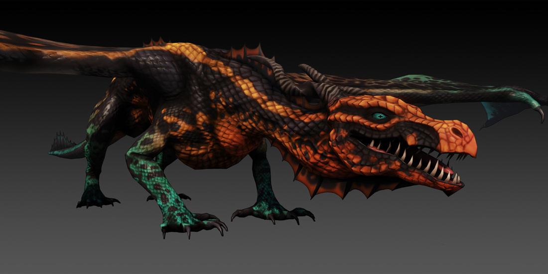 Warlock Dragon