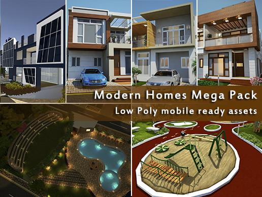 Modern Town Mega Pack