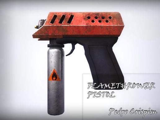 Flamethrower Pistol