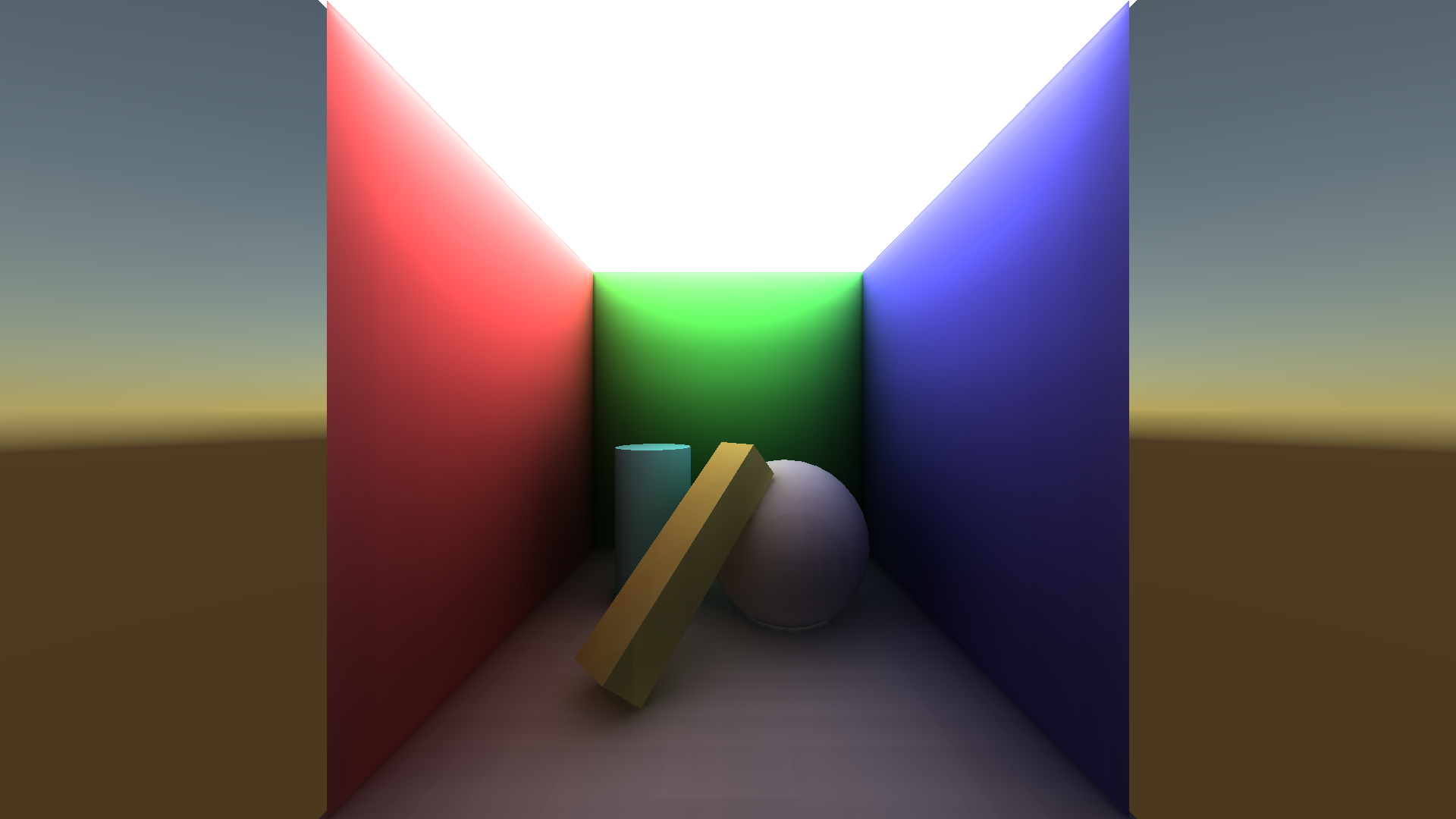 SRP Isotropic Voxel Cone Tracing