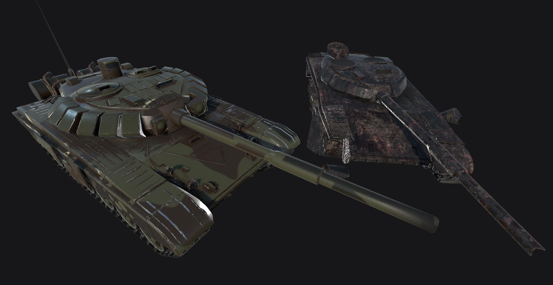 T72 Krova Tank