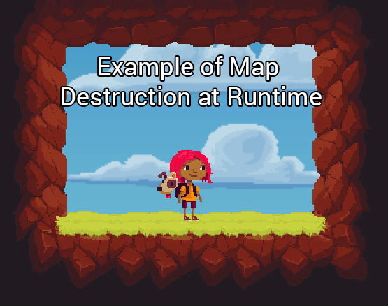 Example of Map Destruction at Runtime