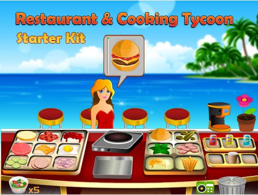 Restaurant & Cooking Starter Kit