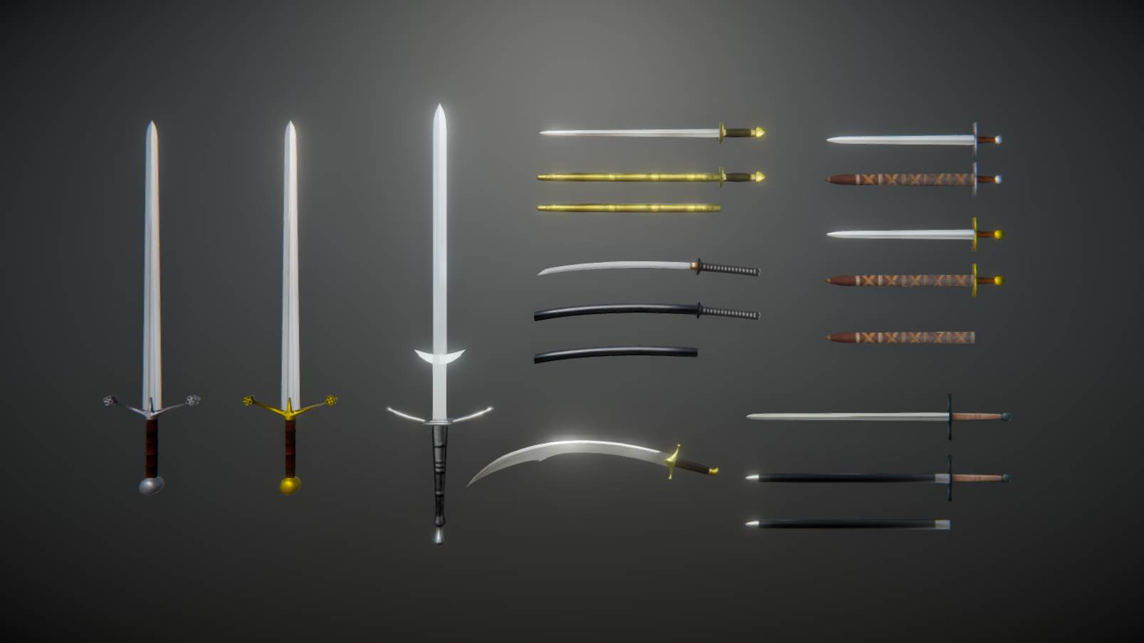 Historical Swords Pack