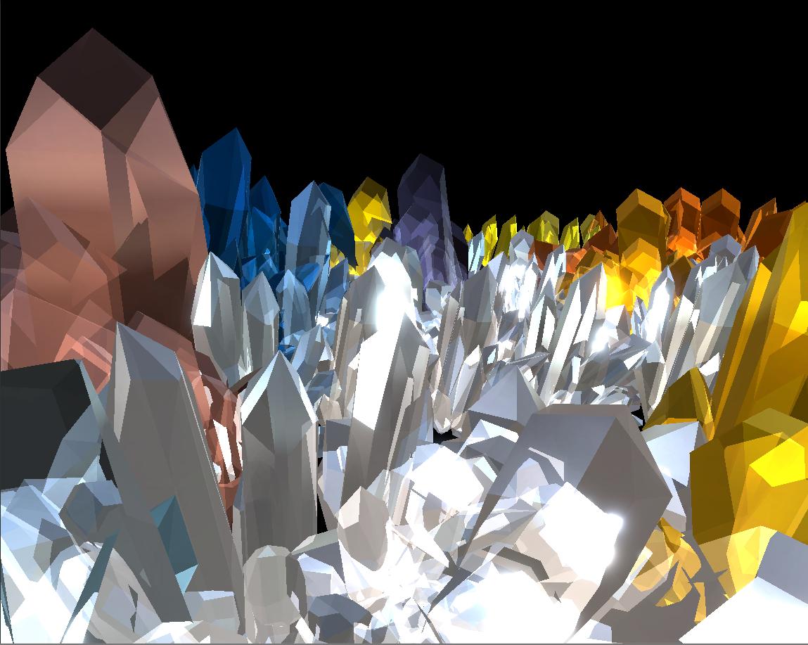 Spiral Crystallization Photo