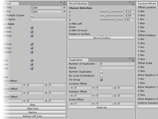 Object Placement Tools