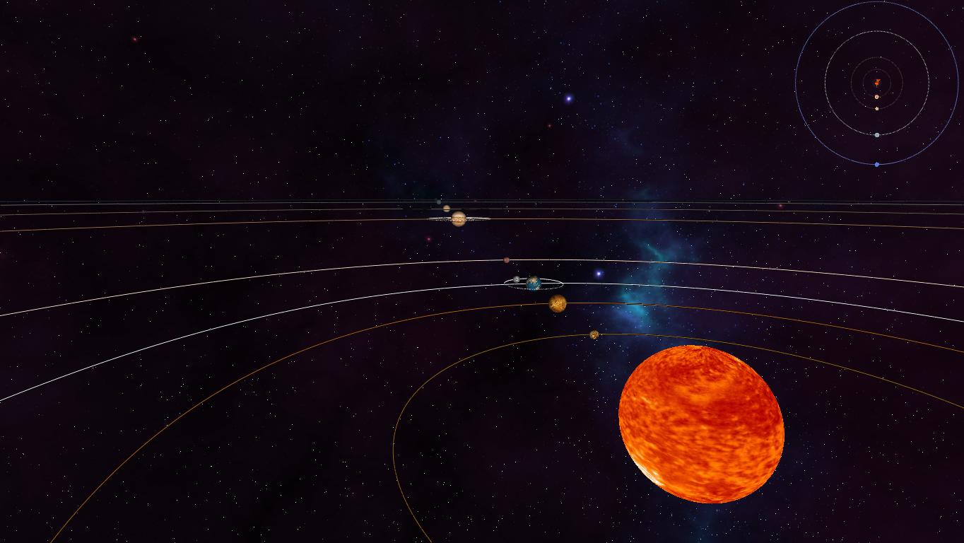OpenGL Solar System