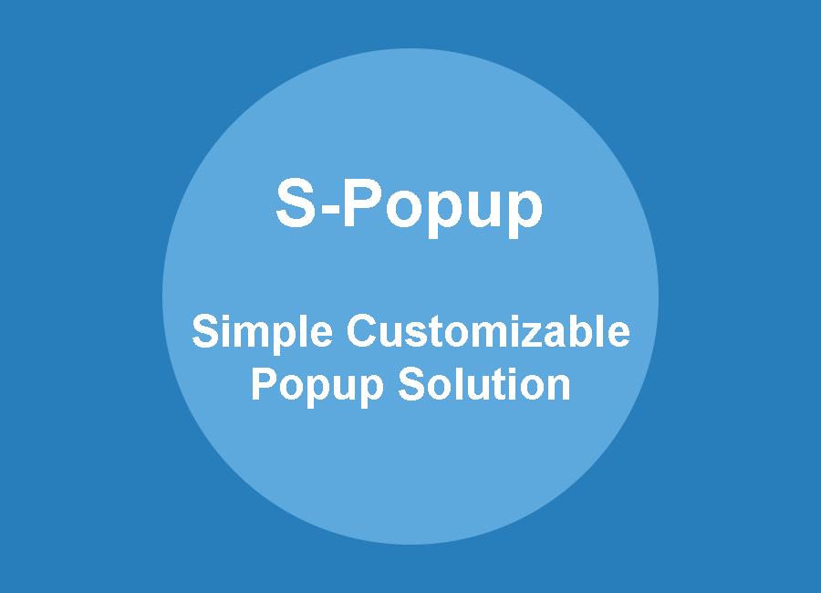 S-Popup