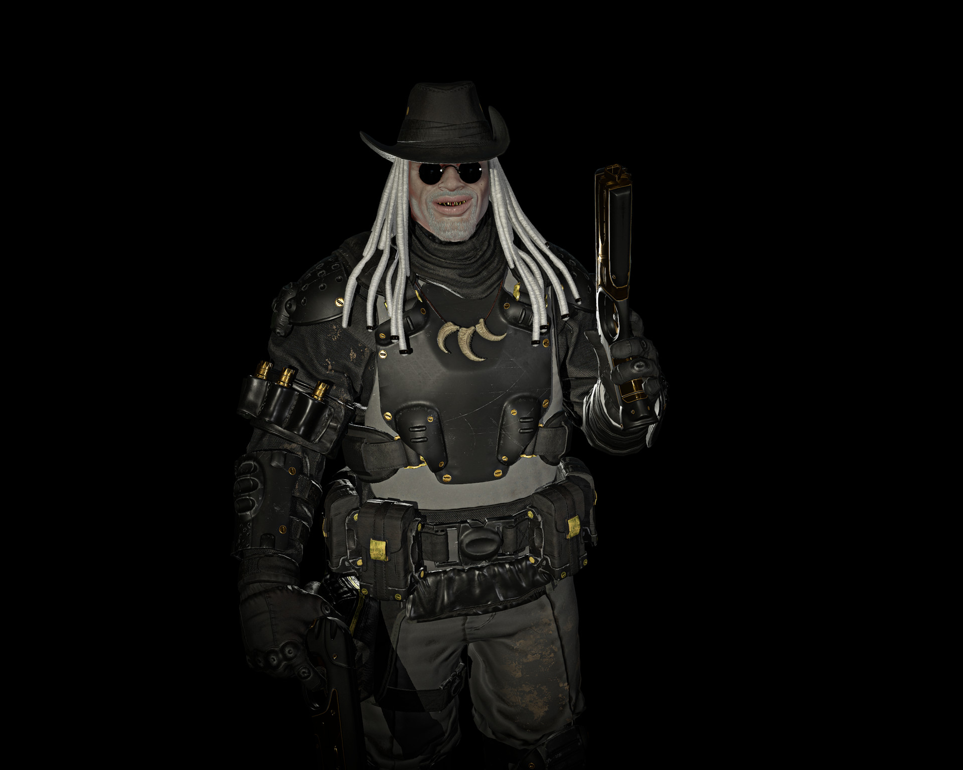 Albino bounty hunter