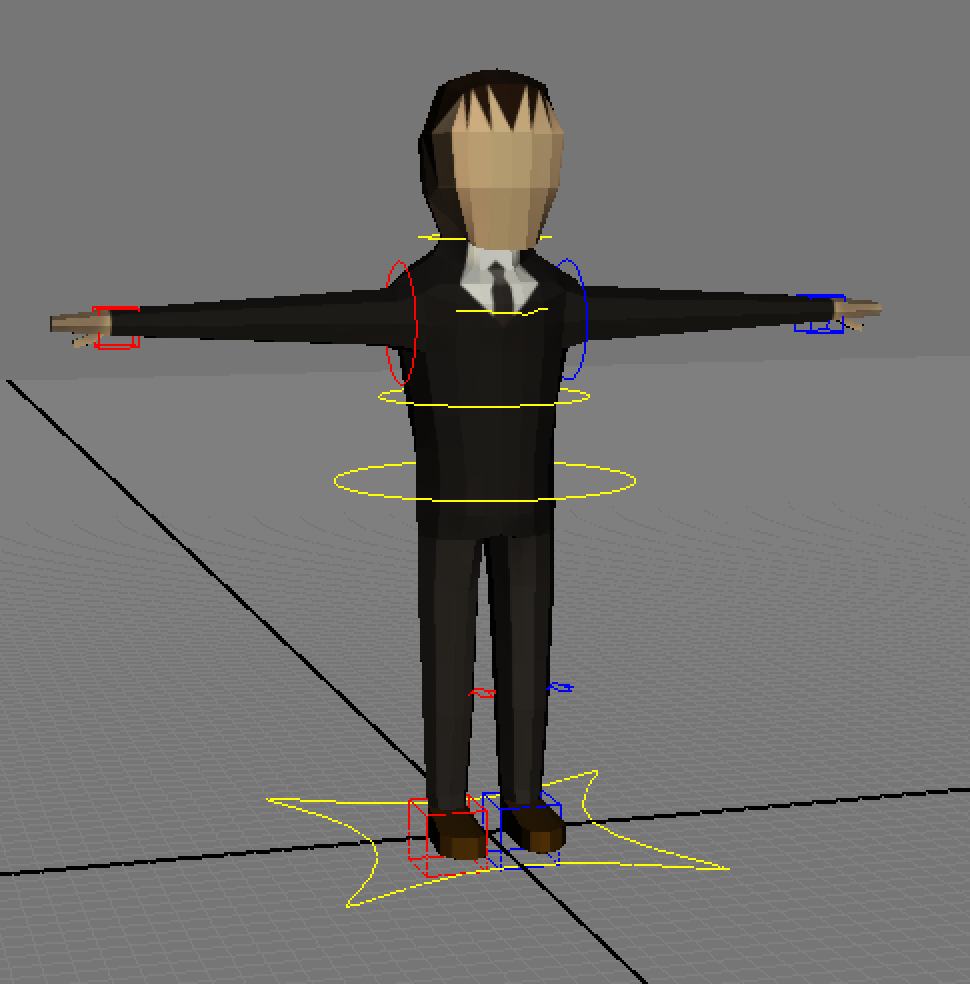 Unity Low-poly Character