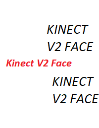 Kinect Face and Body Input