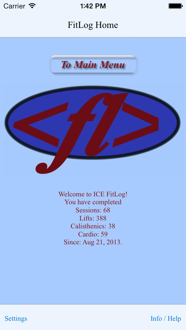 ICE FitLog LT
