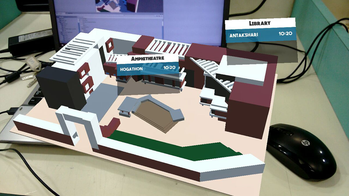 AR Campus Fest Map