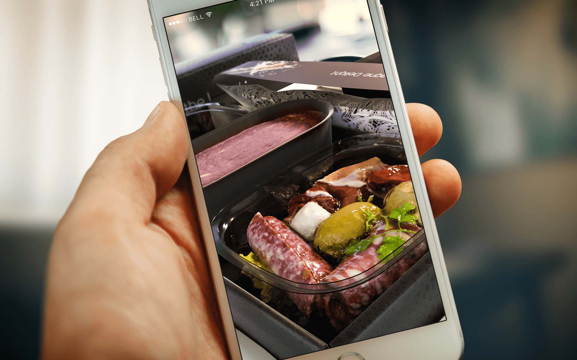 KLM - Augmented Reality meals