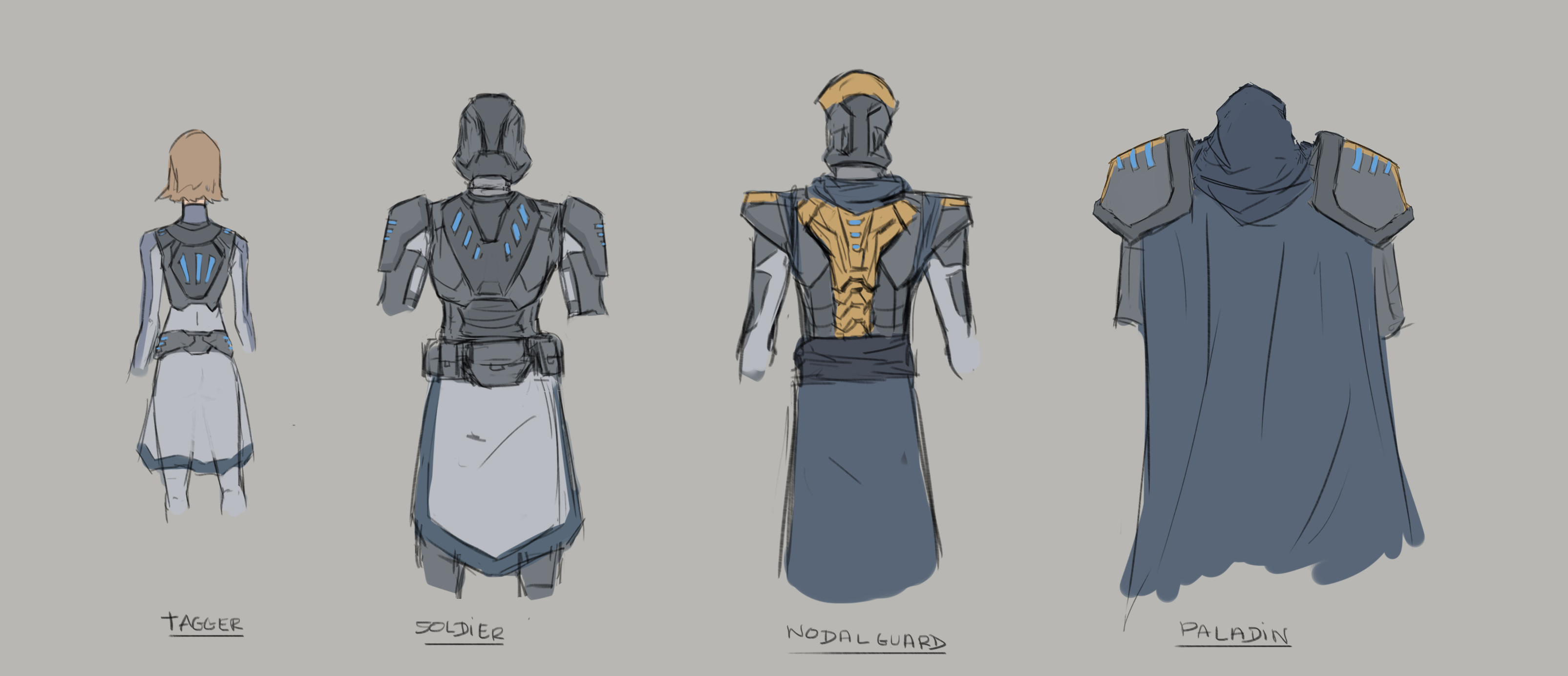 TAGG Character Design
