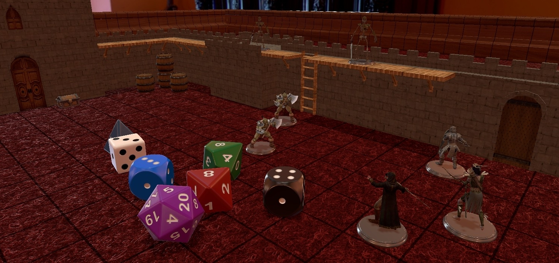 Tabletop Simulator Castle Project