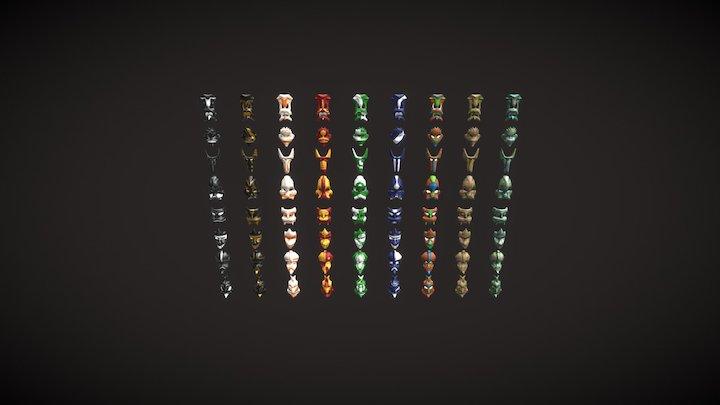 [M] Tribal Masks