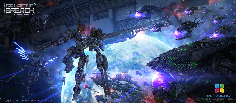Galactic Breach: Earth Assault. Battle_001