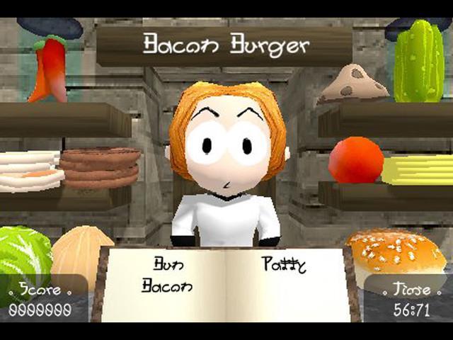 Burger Time iOS Game