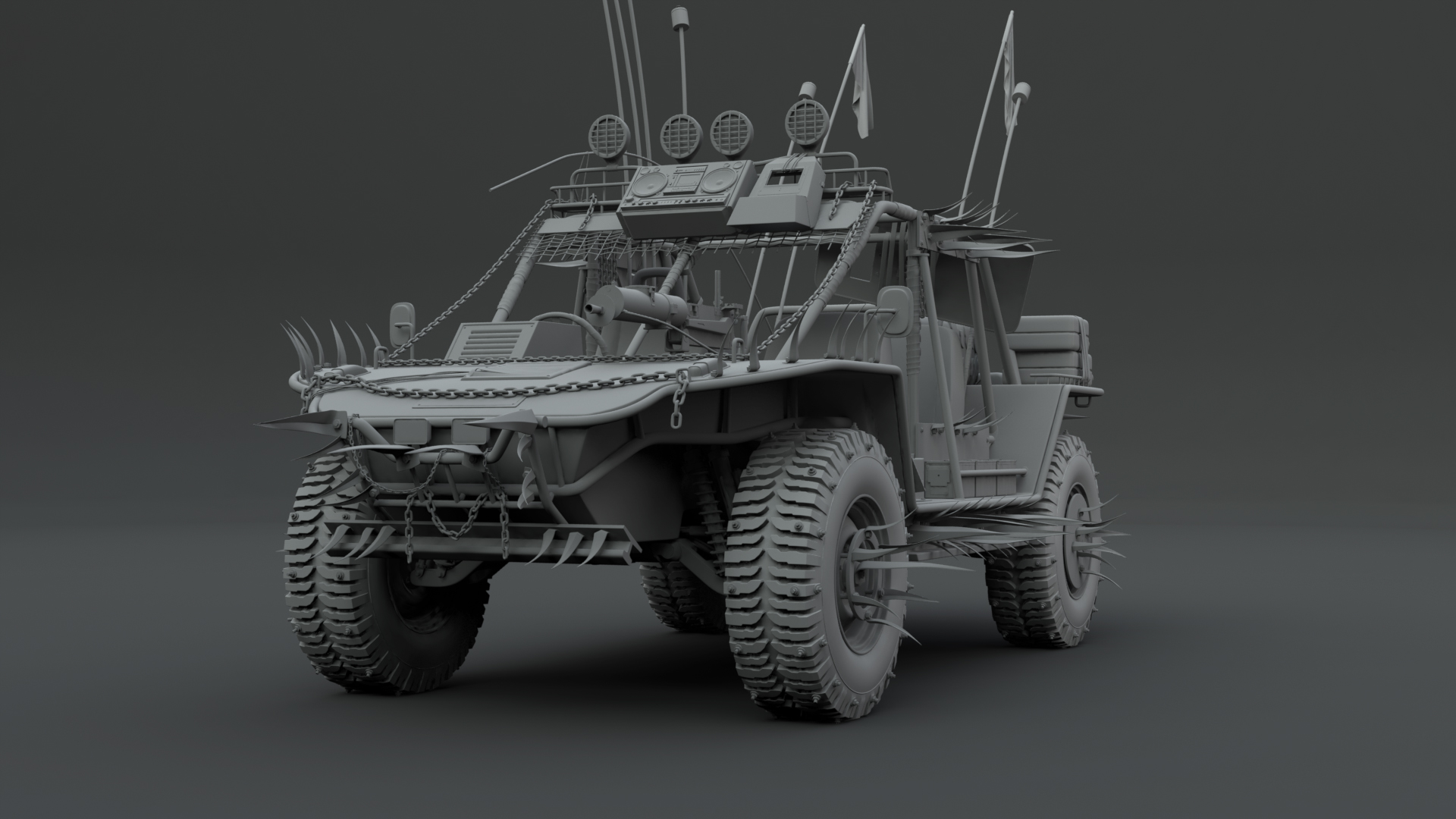 post apocalyptic buggy